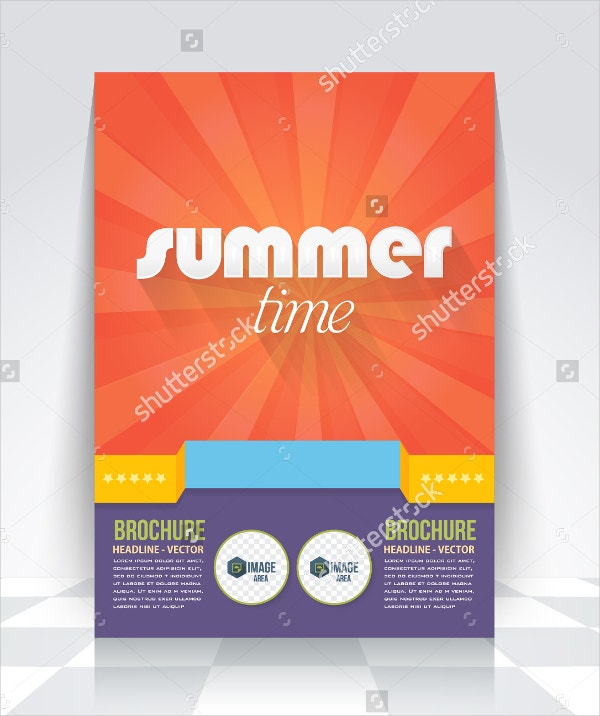 Summer Time Brochure Template