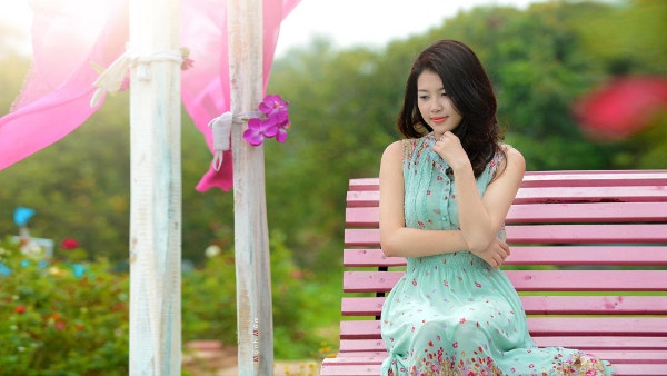 Cute Asian Girl Wallpaper Download