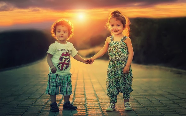 Cute Happy Children Wallpaper for Desktop