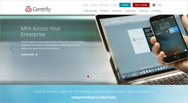 Centrify Cloud Security Tool