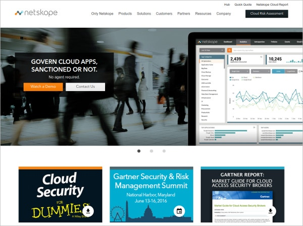 Netskope Cloud App Security Tool