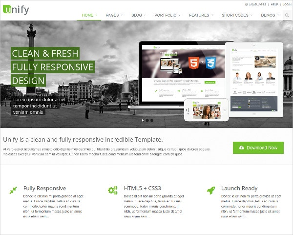 beautiful bootstrap website theme 18