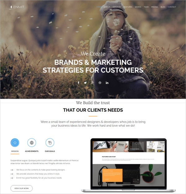 multipurpose bootstrap website template 15