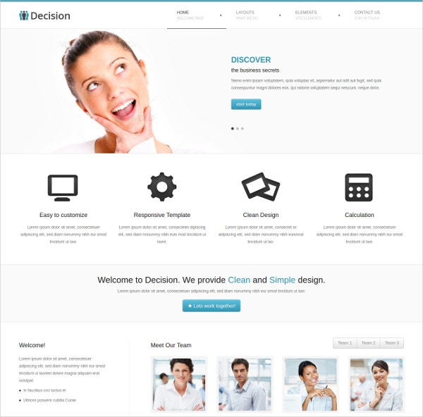 corporate bootstrap responsive website template 18
