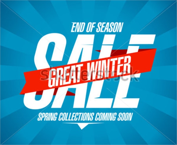 Great Winter Sale Coming soon Flyers