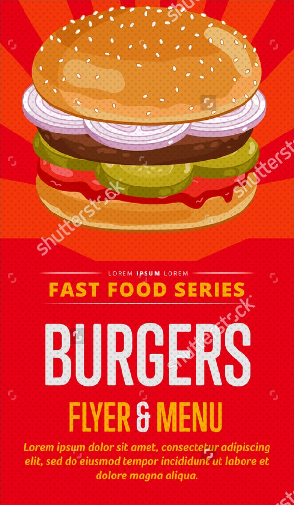 26   burger flyer templates