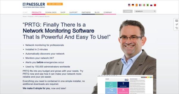 Paessler Network Monitoring Software