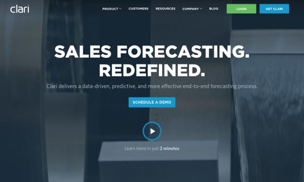 clari predictive analytics