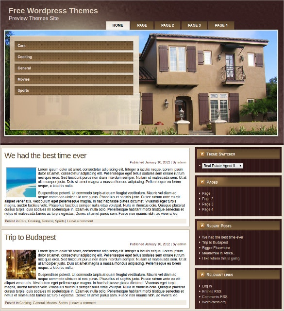Best Realtor WordPress Website Theme