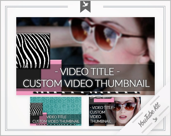 youtube kit with thumbnail template