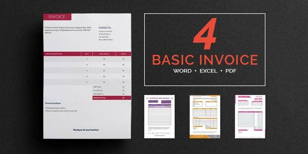 basic invoice templates1