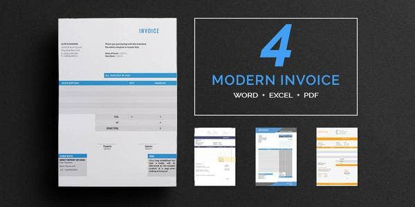 Modern Invoice Template