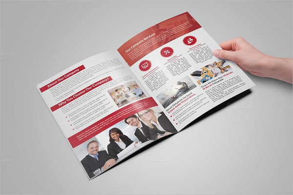 24 folded brochure templates free psd ai eps format download