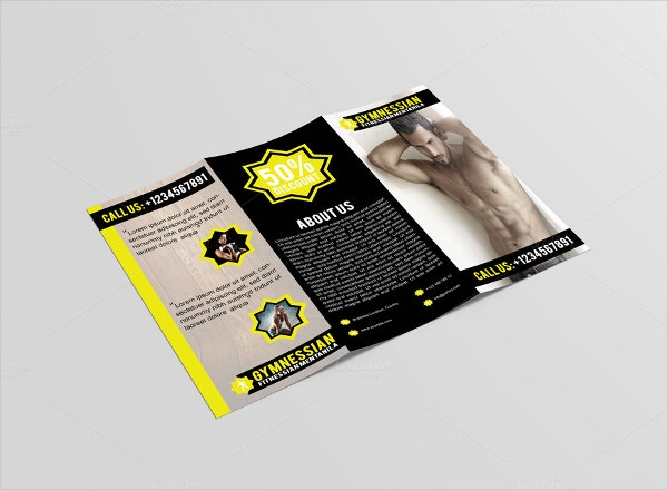 Folded Brochure Templates  Free Psd Ai Eps Format Download