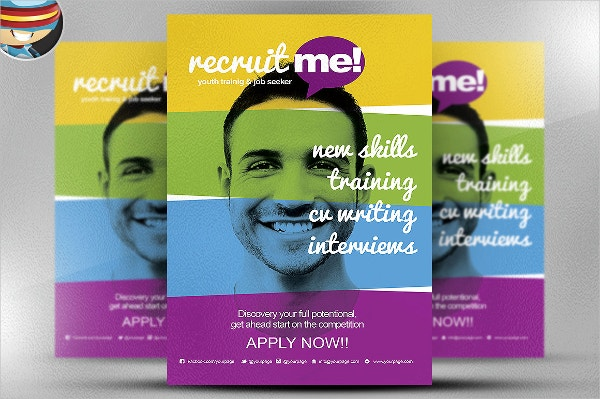 Creative Recruitment Flyer Template
