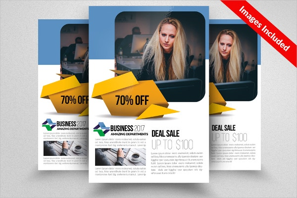 corporate recruitment flyer template