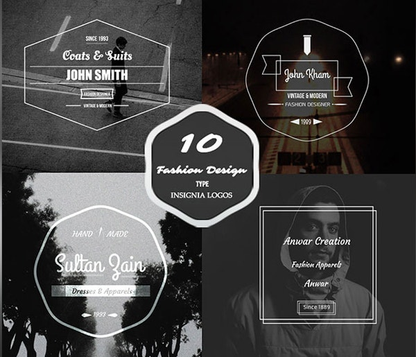 10 Fashion Vintage Badges For Your Projects