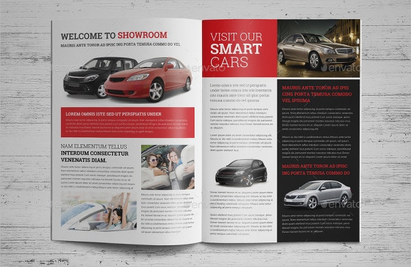 Automotive Car Catalog Brochure