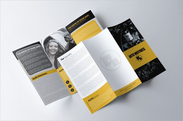 consulting automotive brochure