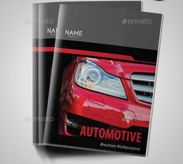 Automotive Minimal Brochure