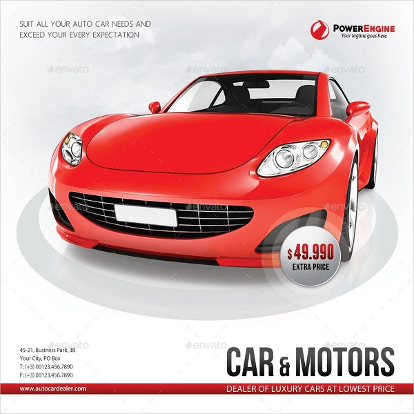 Automotive Sale Brochures