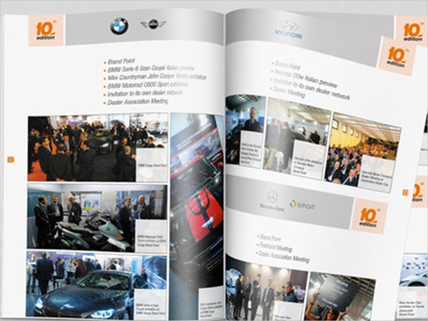 editorial automotive brochures