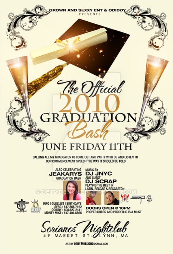 Graduation Bash Flyer