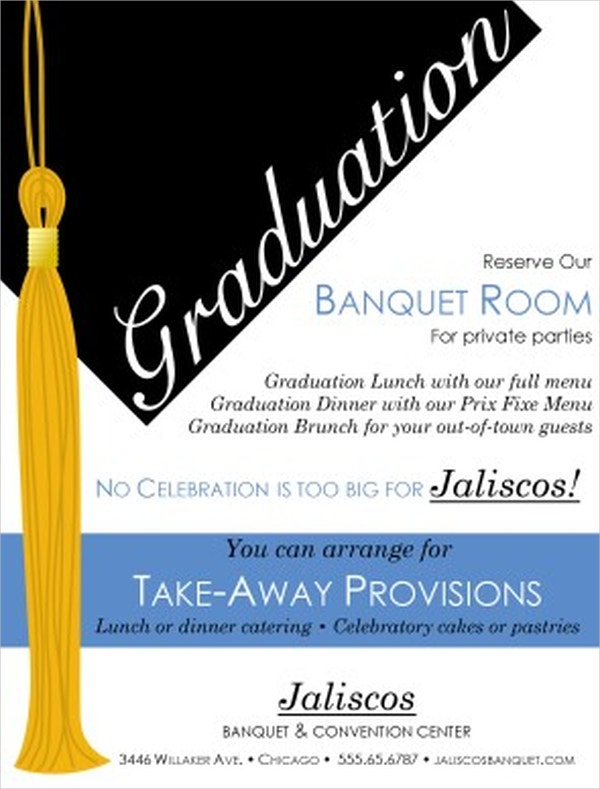 School Graduation Event Flyer