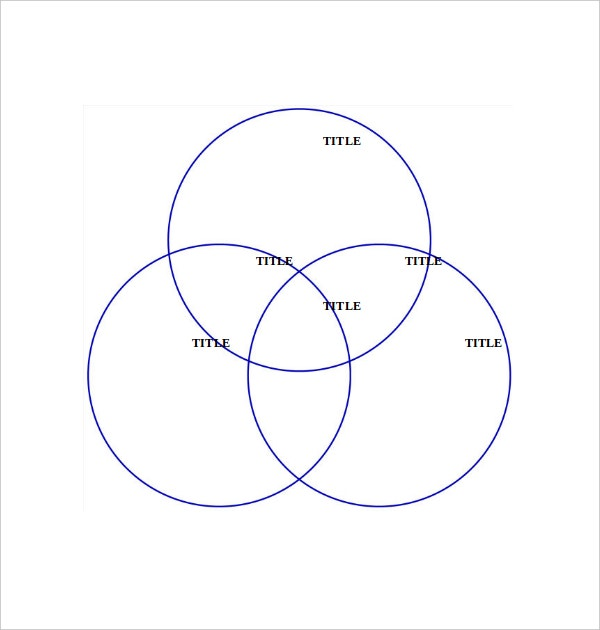 3 circle microsoft venn diagram template