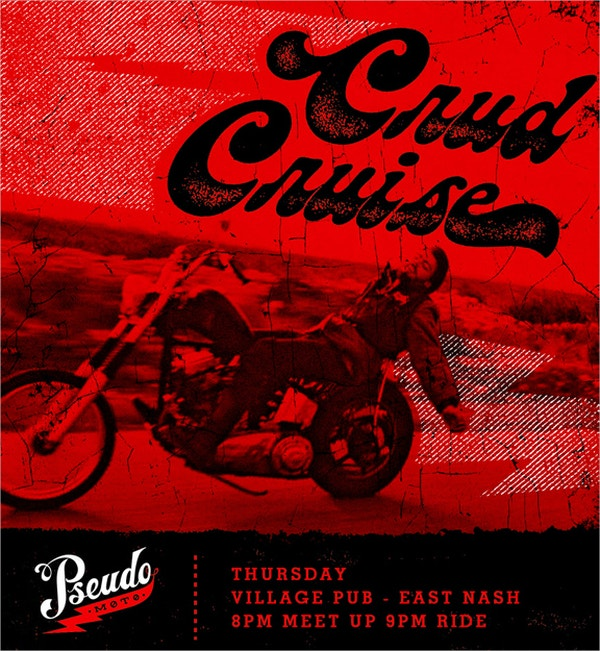 Crud Cruise flyers