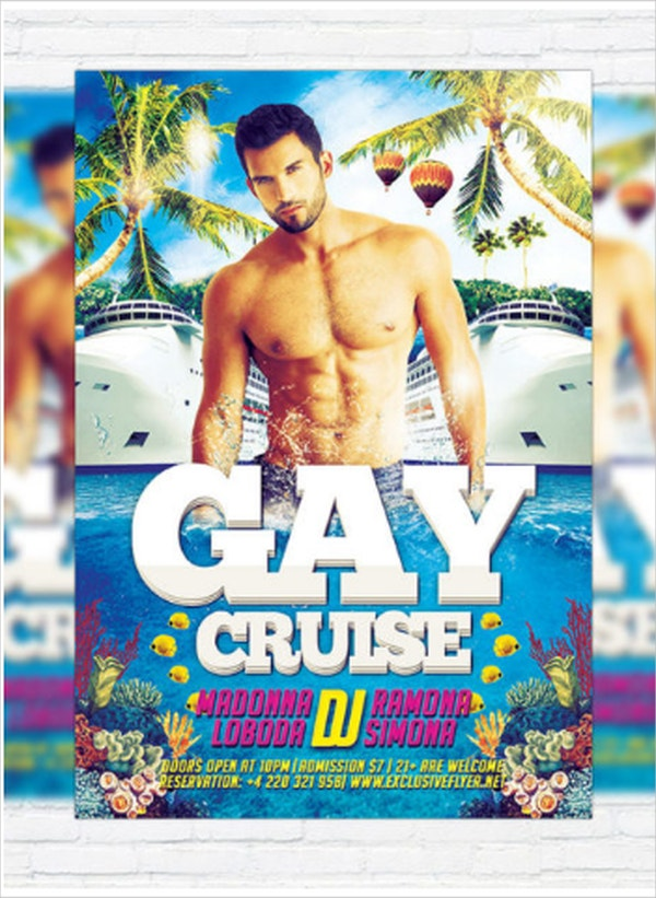 Gay Cruise Premium Flyer