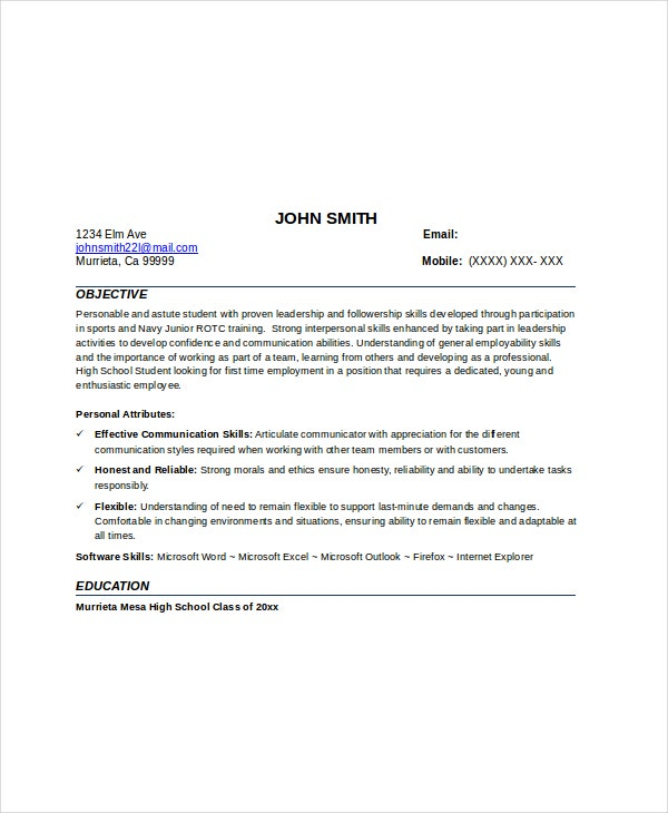 Babysitter No Experience Resume  Babysitting On A Resume
