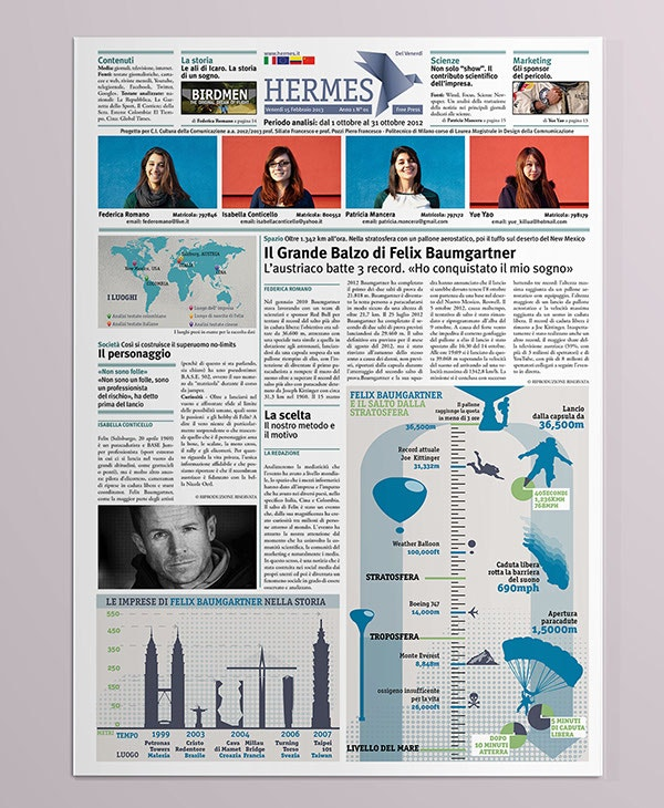 Newspaper Templates  Free Sample Example Format  Free