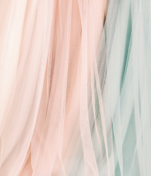 Wedding Tulle Background