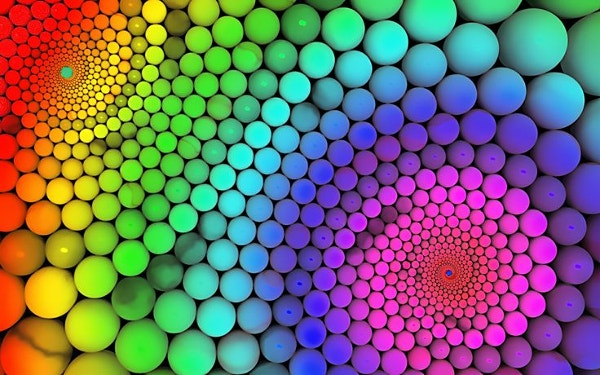 Cool Colorful 3D Rainbow Wallpaper Background Download