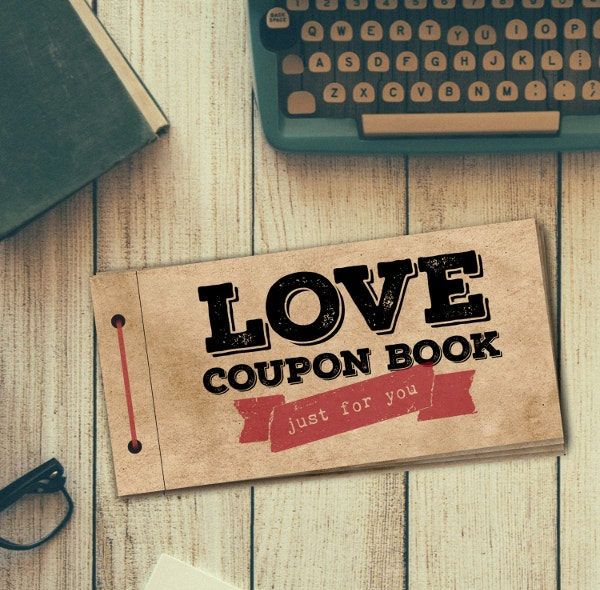 love coupon book template