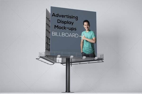 advertising display mockups bundle