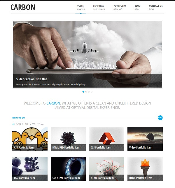 Responsive Business WordPress Theme $2