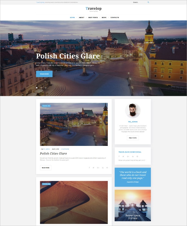 traveling blog wordpress theme 45