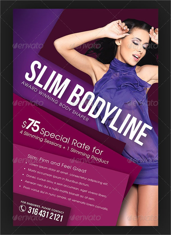 Slim Body Cosmetic Flyer