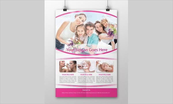 Organic Cosmetic Flyer