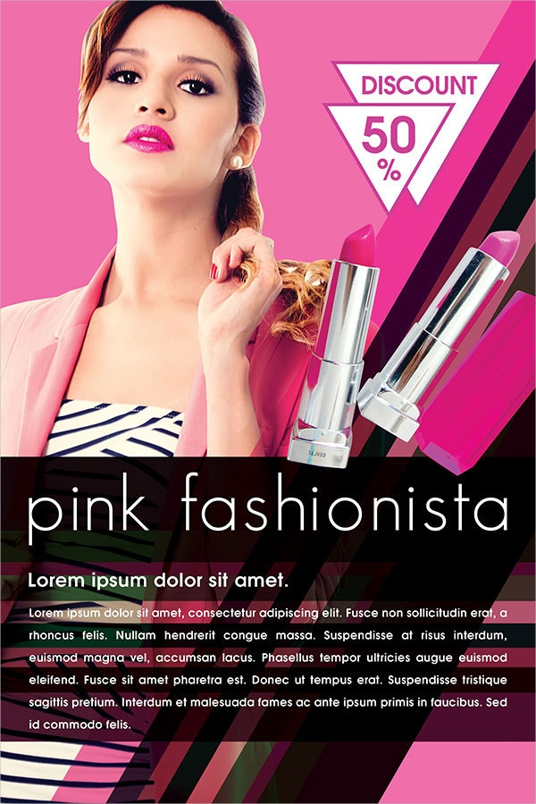 Beauty Cosmetic Promotional Flyer