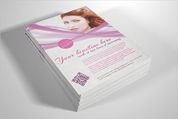 Natural Beauty Cosmetic Flyer