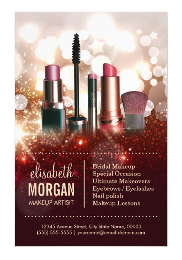 Cosmetologist Shiny Glitter Sparkle Flyer