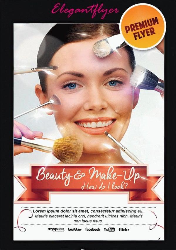 Modern Cosmetic Classy Flyer