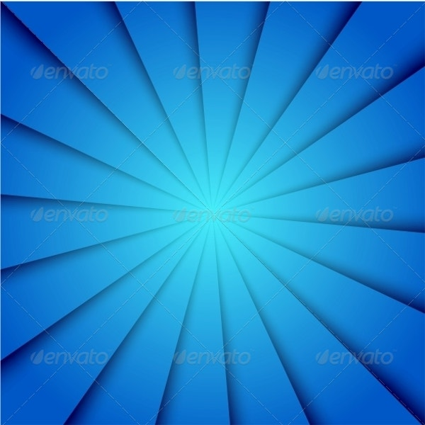 vector creative illustration blue background