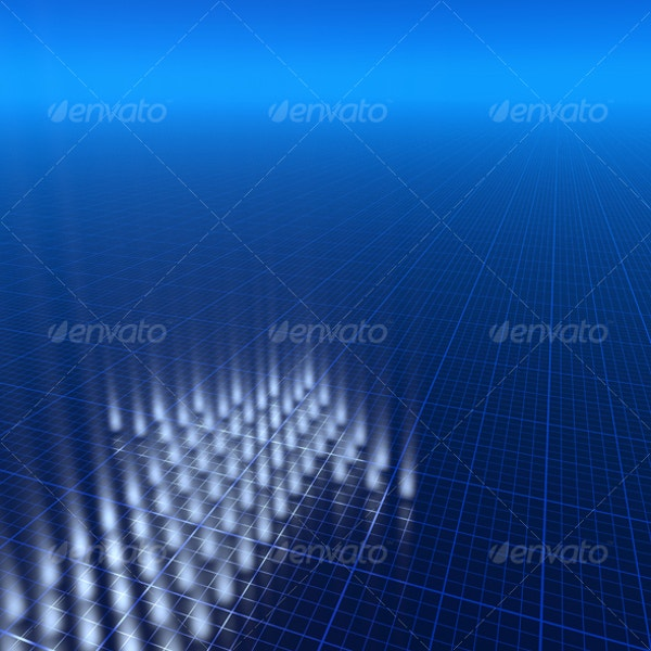 3d blue background for photoshop