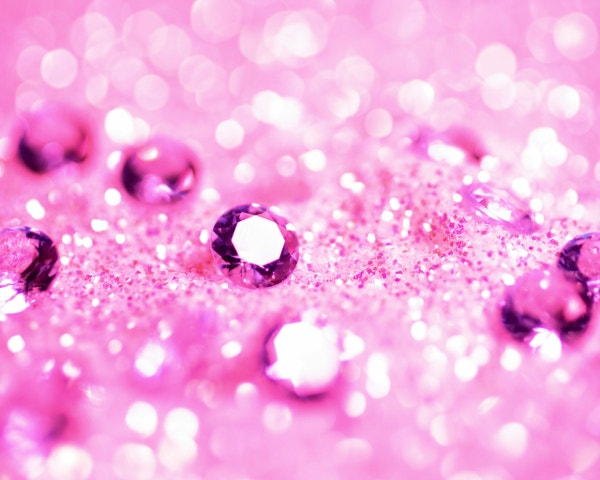 Shining Wallpapers Diamonds Pink Background