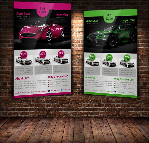 auto car show flyer