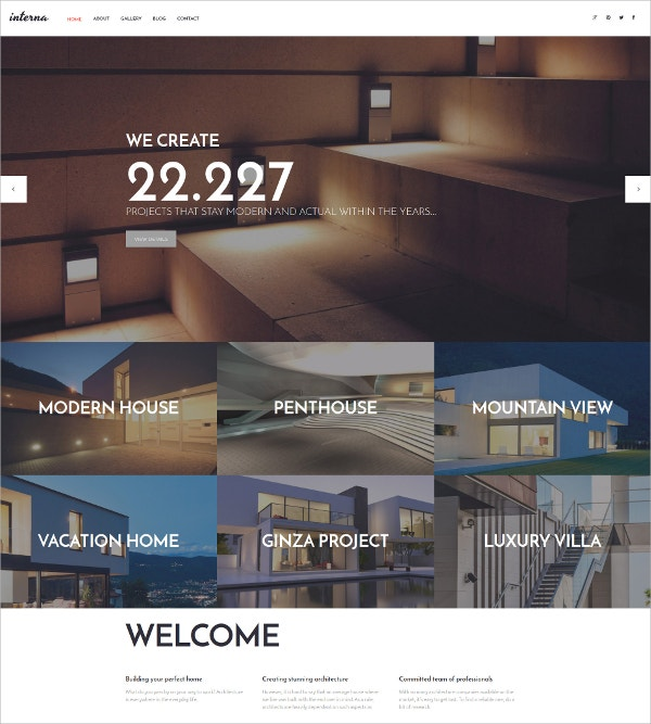 Project Parallax WordPress Theme $75